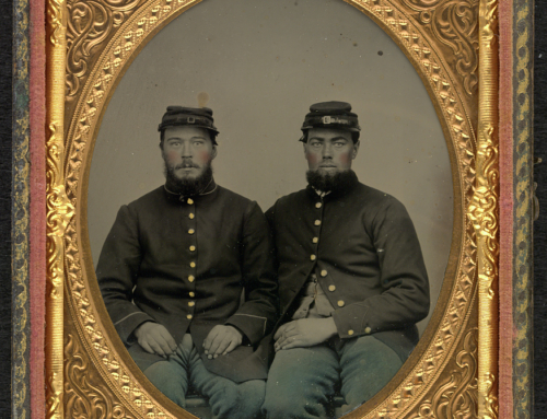 Local Civil War Soldiers Pictured in Rare Tintype