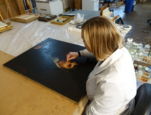 William Winchester Portrait Conservation