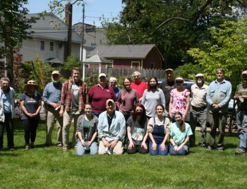 Volunteers Cleanup Day at HSCC