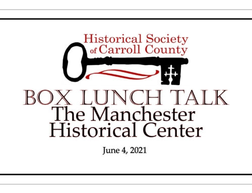 Box Lunch Talk: the Manchester Historical Center