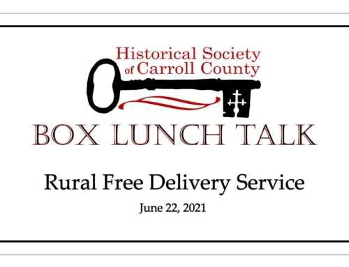 Box Lunch Talk: Rural Free Delivery Service