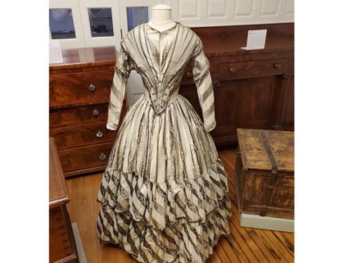 Cathy Baty Describes 1850 Shriver Dress