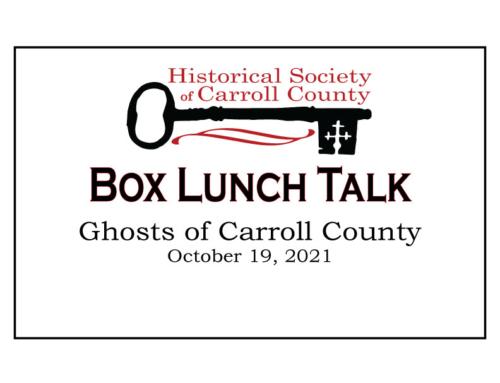 October 19 – Box Lunch Talk